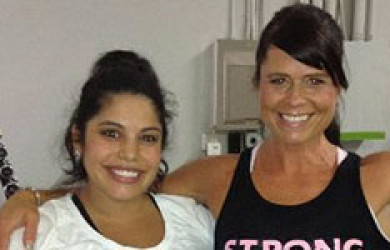 Kirkland Personal Trainer works out in Bellevue