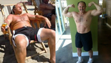 Bruce Hasson improved his fitness training in Bellevue Fire Fitness