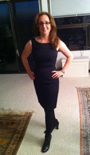 Greta Knappenberger after fitness training in Bellevue